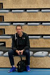 26-10-2019 NED: Talentteam Papendal - Sliedrecht Sport, Ede<br /> Round 4 of Eredivisie volleyball - Claudio Gewehr