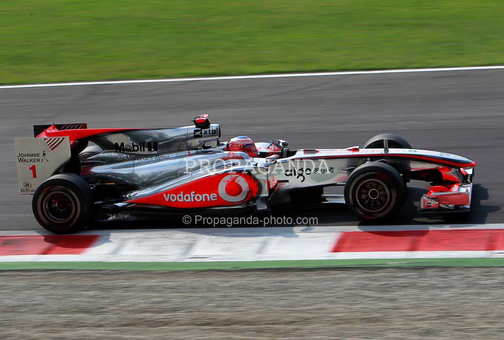 Motorsports / Formula 1: World Championship 2010, GP of Italy, 01 Jenson Button (GBR, Vodafone McLaren Mercedes),