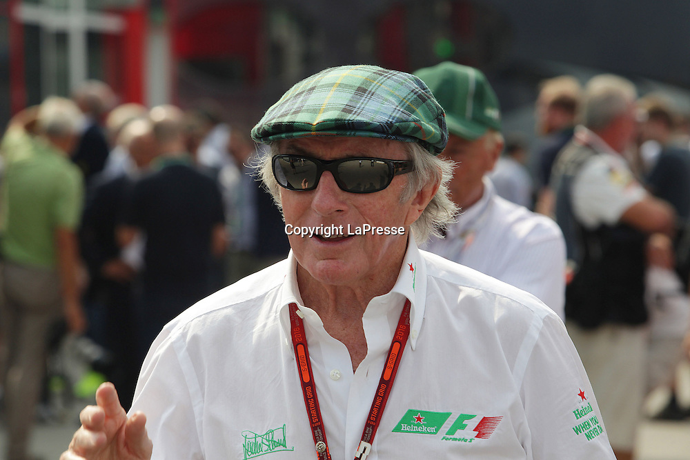 &copy; Photo4 / LaPresse<br /> 04/09/2016 Monza, Italy<br /> Sport <br /> Grand Prix Formula One Italia 2016<br /> In the pic: Sir Jackie Stewart (GBR)