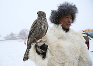 China - Falconry In Jilin - 22 Dec 2016