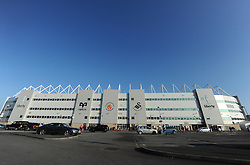View of the Liberty Stadium. - Photo mandatory by-line: Alex James/JMP - Mobile: 07966 386802 - 29/11/2014 - Sport - Football - Swansea -  - Swansea v Crystal palace  - Barclays Premier League