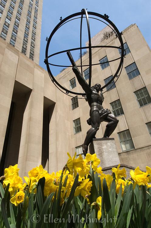 Statue of Atlas at Rockefeller Center
