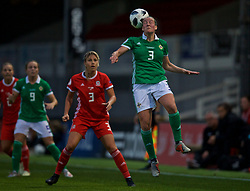 NEWPORT, WALES - Tuesday, September 3, 2019: Northern Ireland's Demi Vance during the UEFA Women Euro 2021 Qualifying Group C match between Wales and Northern Ireland at Rodney Parade. (Pic by David Rawcliffe/Propaganda)