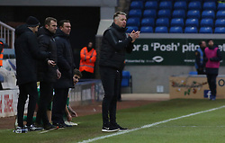 Peterborough United Manager Darren Ferguson encourages his players from the touchline - Mandatory by-line: Joe Dent/JMP - 02/02/2019 - FOOTBALL - ABAX Stadium - Peterborough, England - Peterborough United v Plymouth Argyle - Sky Bet League One