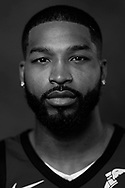 Sep 25, 2017; Cleveland, OH, USA; Cleveland Cavaliers center Tristan Thompson (13) poses for a portrait during media day at Cleveland Clinic Courts. Mandatory Credit: Rick Osentoski-USA TODAY Sports