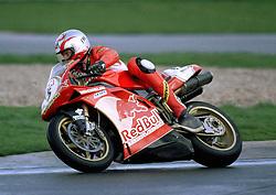 Sean Emmett Red Bull Ducati, World Superikes, Donington Park,