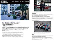 Fotograf Jonas Berglund fra Jessheim Fotograferte Quality Airport Hotel Gardermoen gjenåpning i ny og storslått drakt! Med artikkel i hotellmagasinet