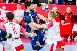 Nadim Remili (FRA) during handball match between National teams of France and Denmark in Bronze medal match of Men's EHF EURO 2018, on January 28, 2018 in Arena Zagreb, Zagreb, Croatia . Photo by Ziga Zupan / Sportida
