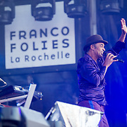 Concert de yannick Noah aux francofolies de La Rochelle 2015