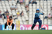 Thea Brookes of Yorkshire Diamonds batting during the Women's Cricket Super League match between Southern Vipers and Yorkshire Diamonds at the Ageas Bowl, Southampton, United Kingdom on 8 August 2018.