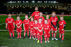 Bristol City mascots with Gary O'Neil of Bristol City - Mandatory by-line: Dougie Allward/JMP - 05/11/2016 - FOOTBALL - Ashton Gate - Bristol, England - Bristol City v Brighton and Hove Albion - Sky Bet Championship