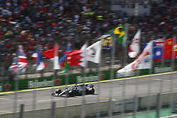 November 17, 2019, Sao Paulo, Brazil: Motorsports: FIA Formula One World Championship 2019, Grand Prix of Brazil, .#44 Lewis Hamilton (GBR, Mercedes AMG Petronas Motorsport) (Credit Image: © Hoch Zwei via ZUMA Wire)