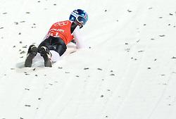 06-02-2014 SCHANSSPRINGEN: OLYMPIC GAMES: SOTSJI<br /> Training Schansspringen op het Russki Gorki Jumping Center / Robert Kranjec SLO<br /> ©2014-FotoHoogendoorn.nl<br />  / Sportida