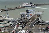 Dover Folkestone Kent Coast Transport UK Europe Brexitland