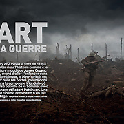 L'ART DE LA GUERRE - 'So Film' Exclusive on Lost City of Z - Starring Charlie Hunnam & Robert Pattinson - Director James Gray, DOP Darius Khondji, Photographs by Aidan Monaghan