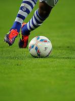 FUSSBALL   EUROPA LEAGUE   SAISON 2011/2012   Play-offs FC Schalke 04 - HJK Helsinki                                25.08.2011 Symbolbild: Ball und Beine