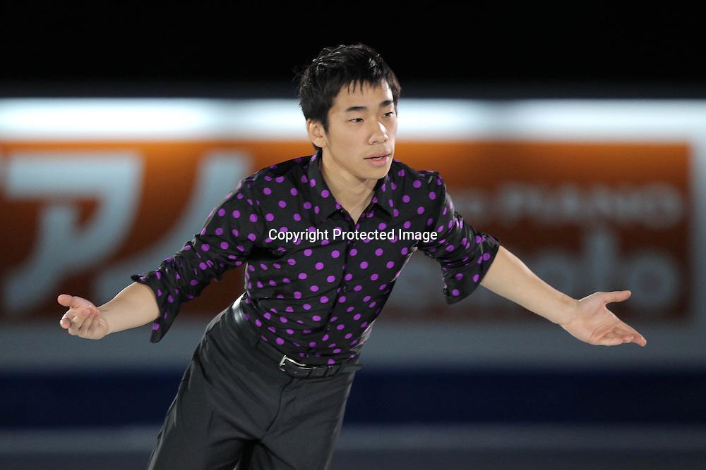 D&ldquo;cM&not;/Nobunari Oda (JPN), <br /> DECEMBER 12, 2010 - Figure Skating : <br /> ISU Grand Prix of Figure Skating Final 2010/2011 <br /> Exhibition <br /> at Capital Indoor Stadium, Beijing, China. <br /> (Photo by Akihiro Sugimoto/AFLO SPORT) [1080]