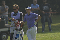 October 14, 2017 - Monza, Italy - Matthew Fitzpatrick of England on Day three of the Italian Open at Golf Club Milano (Credit Image: © Gaetano Piazzolla/Pacific Press via ZUMA Wire)