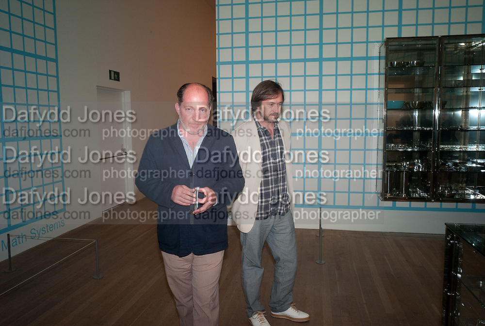 , MARC NEWSONDamien Hirst, Tate Modern: dinner. 2 April 2012.