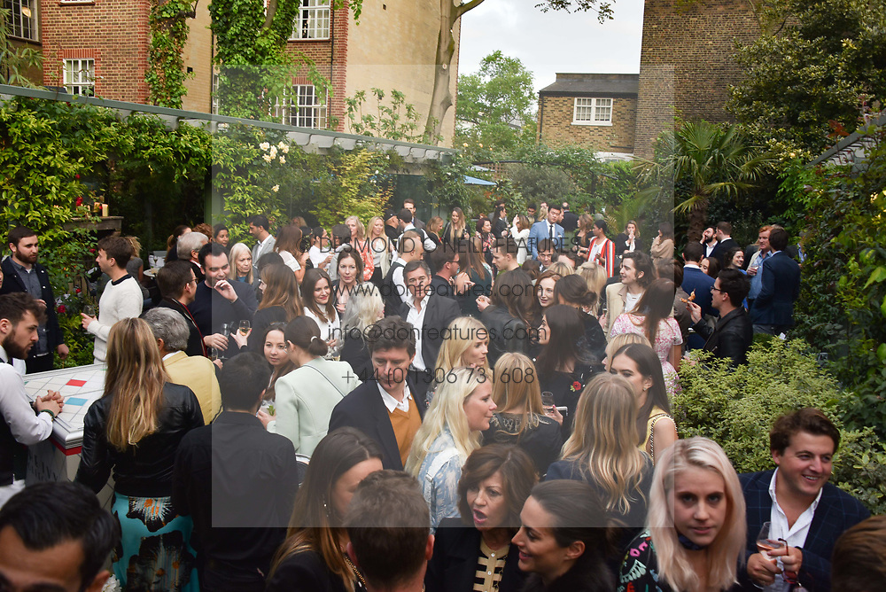 Atmosphere at The Ivy Chelsea Garden's Annual Summer Garden Party, The Ivy Chelsea Garden, 197 King's Road, London England. 9 May 2017.<br /> Photo by Dominic O'Neill/SilverHub 0203 174 1069 sales@silverhubmedia.com