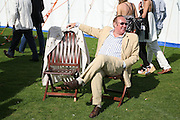 Andrew Neil , Cartier International Polo. Guards Polo Club. Windsor Great Park. 29 July 2007.  -DO NOT ARCHIVE-© Copyright Photograph by Dafydd Jones. 248 Clapham Rd. London SW9 0PZ. Tel 0207 820 0771. www.dafjones.com.