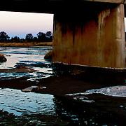 The Farm - Nossob River at sunset