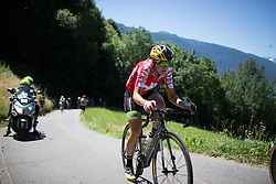 Doris Schweizer (SUI) of Cylance Pro Cycling rides up the Mortirolo during the Giro Rosa 2016 - Stage 5. A 77.5 km road race from Grosio to Tirano, Italy on July 6th 2016.
