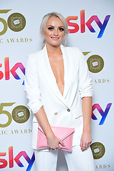 Katie McGlynn attending the TRIC Awards 2019 50th Birthday Celebration held at the Grosvenor House Hotel, London.