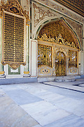 Sultans Reception Room, Imperial Council Chambers, Topkapi Palace - Istanbul, Turkey <br />