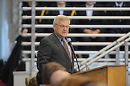 U.S. Representative Alan Nunnelee speaks at a Veterans Day program at Lafayette High in Oxford, Miss. on Thursday, November 8, 2012.