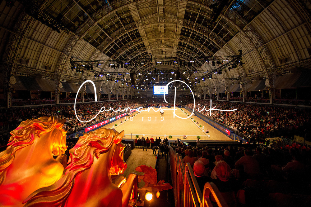 Griffith Lara, (GBR), Rubin al Asad<br /> Grand Prix Freestyle <br /> Reem Acra FEI World Cup Dressage <br /> London International Horse Show<br /> © Hippo Foto - Jon Stroud