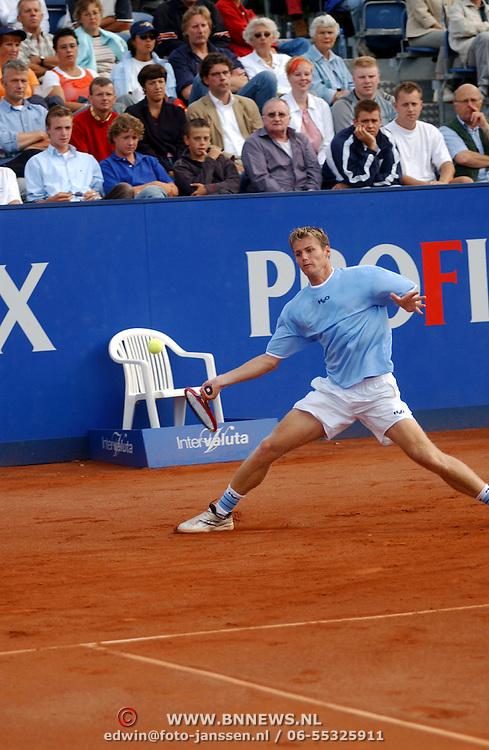 Hilversum Open 2003, Martin Verkerk - Fred Hemmes, Fred Hemmes