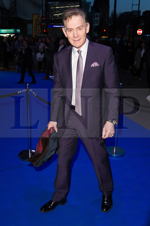 © Licensed to London News Pictures. 21/03/2017.  ANTHONY ANDRWS attend the opening night performance of An American In Paris  at the Dominion Theater. London, UK. Photo credit: Ray Tang/LNP