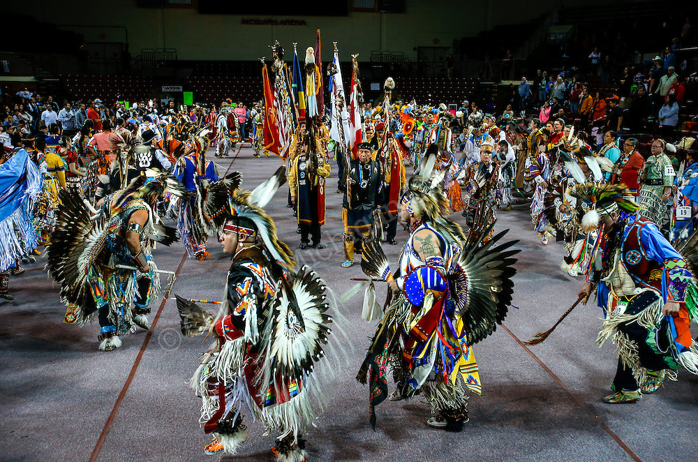 2015 Pow Wow at McGuirk Arena on March 21, 2015. Photo by Steve Jessmore/ Central Michigan University
