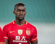 GUANGZHOU, CHINA - FEBRUARY 24:  Jackson Martinez of Guangzhou Evergrande CF looks on during the Guangzhou Evergrande FC v Pohang Steelers match as part of the AFC Champions League 2016 at Guangzhou Tianhe Sport Center on February 24, 2016 in Guangzhou, China.  (Photo by Aitor Alcalde Colomer/Getty Images)