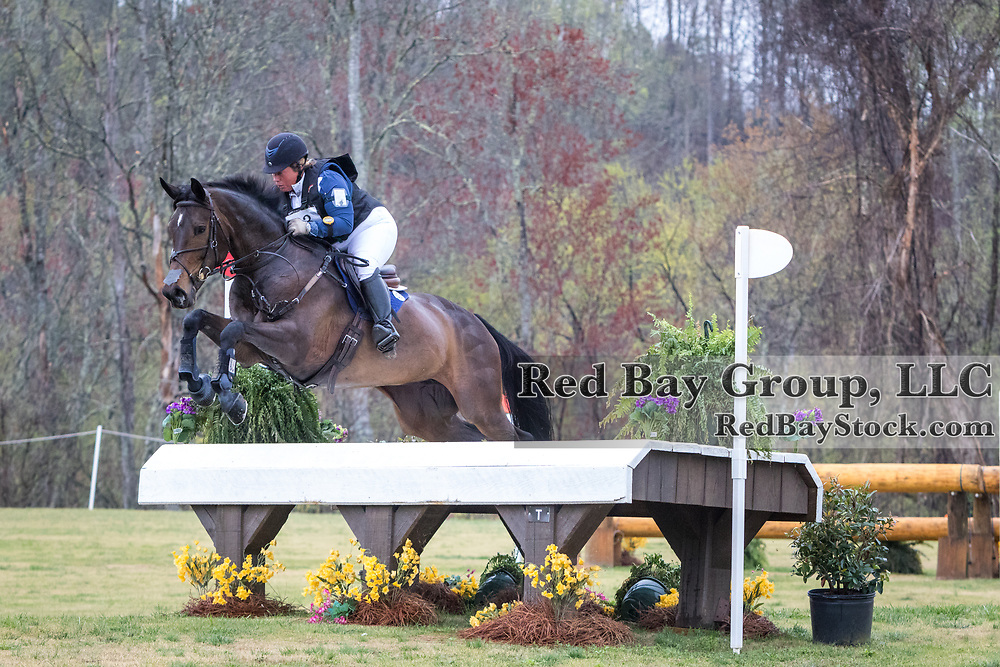 Becky Holder and Wishful Thinking at The Fork Horse Trials at the Tryon International Equestrian Center in Mill Spring, North Carolina.