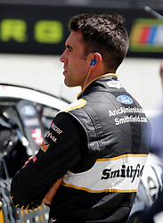 April 13, 2018 - Bristol, TN, U.S. - BRISTOL, TN - APRIL 13:  #10: Aric Almirola, Stewart-Haas Racing, Ford Fusion Smithfield during practice for the 58th annual Food City 500 on April 13, 2018 at Bristol Motor Speedway in Bristol, Tennessee (Photo by Jeff Robinson/Icon Sportswire) (Credit Image: © Jeff Robinson/Icon SMI via ZUMA Press)