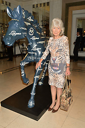 JILLY COOPER at the Longines World's Best Racehorse Awards 2014 hosted by Longines and the International Federation of Horseracing Authorities held at Claridge's, Brook Street, London on 20th January 2015.