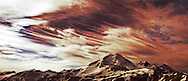Panoramic view of mount Baker