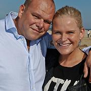 NLD/Scheveningen/20101003 - Dutchypuppy Doggywalk 2010, Menno Kohler en partner