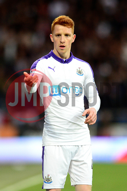 Jack Colback of Newcastle United - Mandatory by-line: Dougie Allward/JMP - 28/04/2017 -  FOOTBALL - Cardiff City Stadium - Cardiff, Wales -  Cardiff City v Newcastle United - Sky Bet Championship