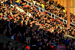 Swindon Town  fans- Mandatory by-line: Nizaam Jones/JMP - 02/01/2017 - FOOTBALL - County Ground - Swindon, England - Swindon Town v Southend United - Sky Bet League One