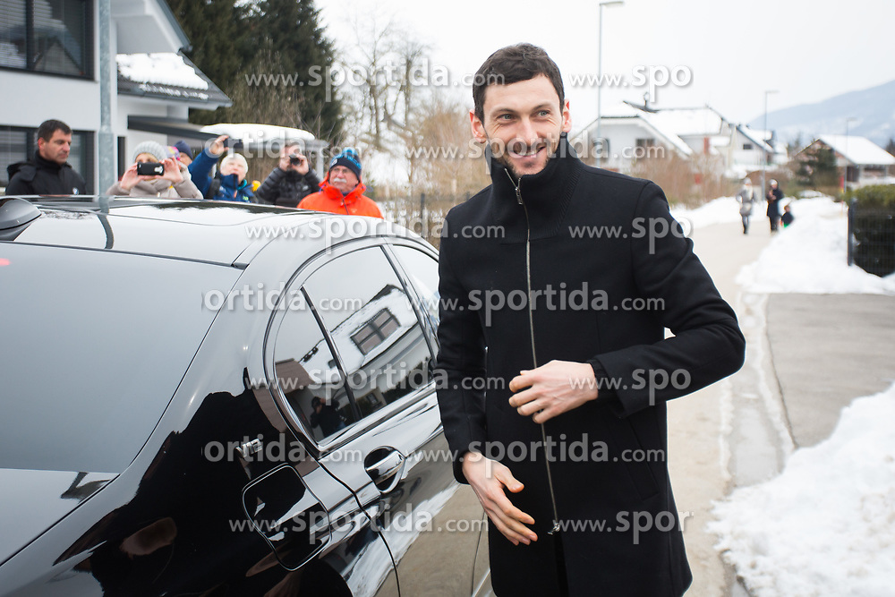 Jakov Fak during Presentation of new house of Jakov Fak, made by Lumar, on February 26, 2018 in Lesce, Lesce, Slovenia. Photo by Ziga Zupan / Sportida