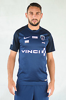 Julien Lopez during photoshooting of Paris FC for new season 2017/2018 on October 17, 2017 in Paris, France<br /> Photo : Stephane Valade / Icon Sport