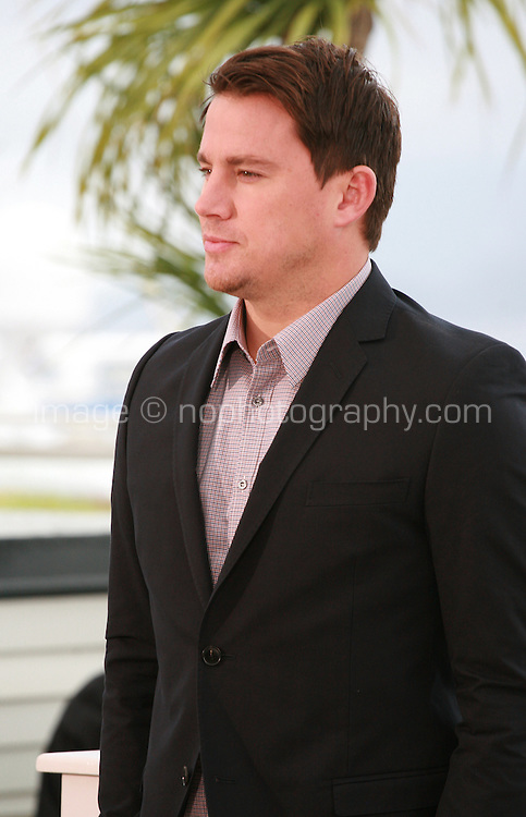 Actor Channing Tatum at the photo call for the film Foxcatcher at the 67th Cannes Film Festival, Monday 19th May 2014, Cannes, France.