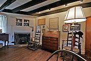 Woolman House, Interior Parlour, Quaker John Woolman, Mt. Holly, South Jersey, NJ