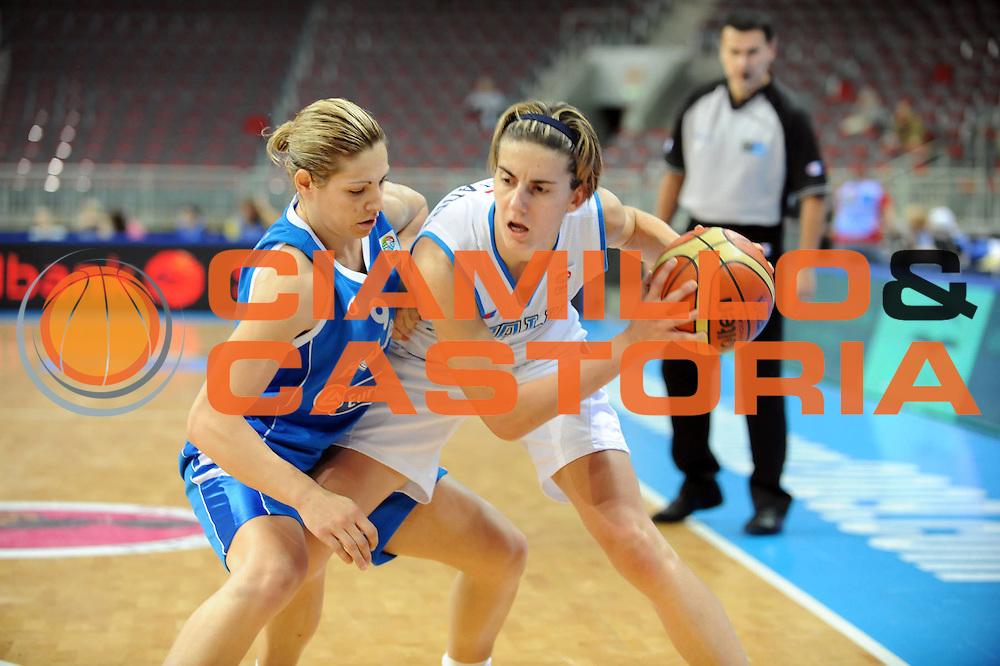 DESCRIZIONE : Riga Latvia Lettonia Eurobasket Women 2009 Semifinal 5th-6th Place Italia Grecia Italy Greece<br /> GIOCATORE : Raffaella Masciadri<br /> SQUADRA : Italia Italy<br /> EVENTO : Eurobasket Women 2009 Campionati Europei Donne 2009 <br /> GARA : Italia Grecia Italy Greece<br /> DATA : 20/06/2009 <br /> CATEGORIA :<br /> SPORT : Pallacanestro <br /> AUTORE : Agenzia Ciamillo-Castoria/M.Marchi<br /> Galleria : Eurobasket Women 2009 <br /> Fotonotizia : Riga Latvia Lettonia Eurobasket Women 2009 Semifinal 5th-6th Place Italia Grecia Italy Greece<br /> Predefinita :