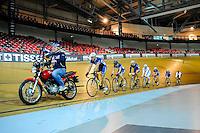 Equipe de France - 27.01.2015 -Entrainement Equipe de France de cyclisme sur piste - Saint Quentin en Yvelines <br />Photo : Anthony Dibon / Icon Sport