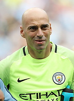 Football - Willy Caballero of Manchester City during the match at the Etihad Stadium between Manchester City and West Ham United. <br /> <br /> 2016 / 2017 Premier League - Manchester City vs. West Ham United<br /> <br /> -- at The Etihad Stadium.<br /> <br /> COLORSPORT/LYNNE CAMERON