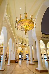 Details from Gold Souk inside the Dubai Mall in United Arab Emirates UAE